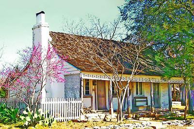 Krieger-Geyer Home, Fredericksburg, TX