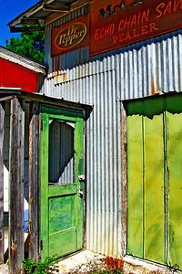 Door in Buildings, Henly, TX