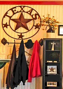 Texas 290 Diner Decor, Johnson City, TX.