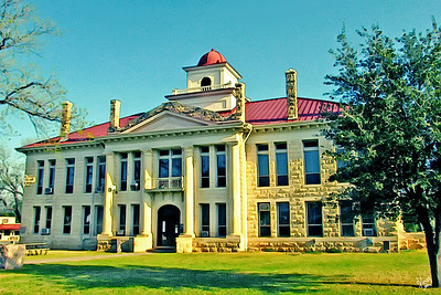 Blanco County Courthouse, Johnson City, TX