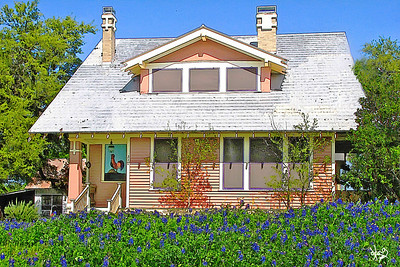 Bluebonnet House in Lockhart, Texas