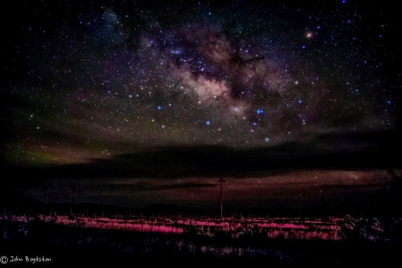 Milky Way Marfa Tx  (alternate mix)