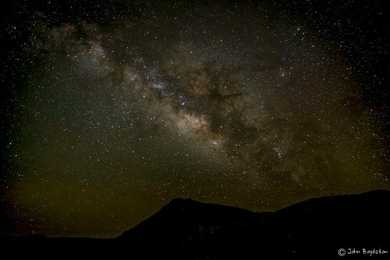 Milky Way over Big Bend Park, Tx
