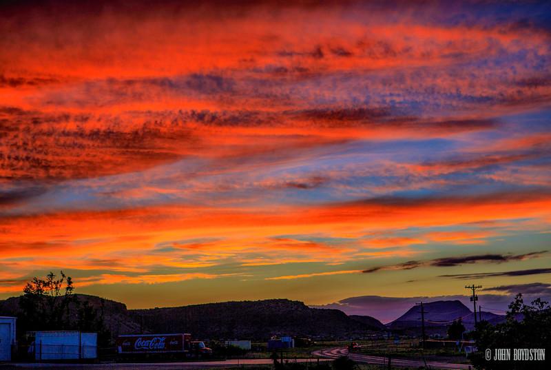 Alpine Sunset   Alpine, Tx