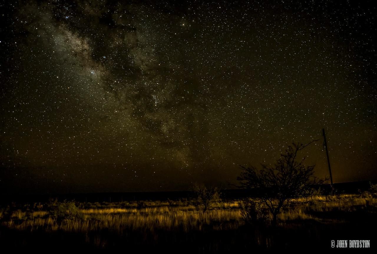 Marfa, Tx Milky Way