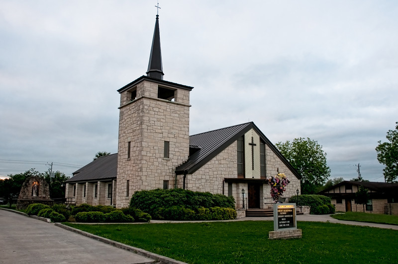 Holy Trinity in Falls City Texas
