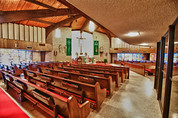 Current St. Mary Catholic Church in Bremond Texas
