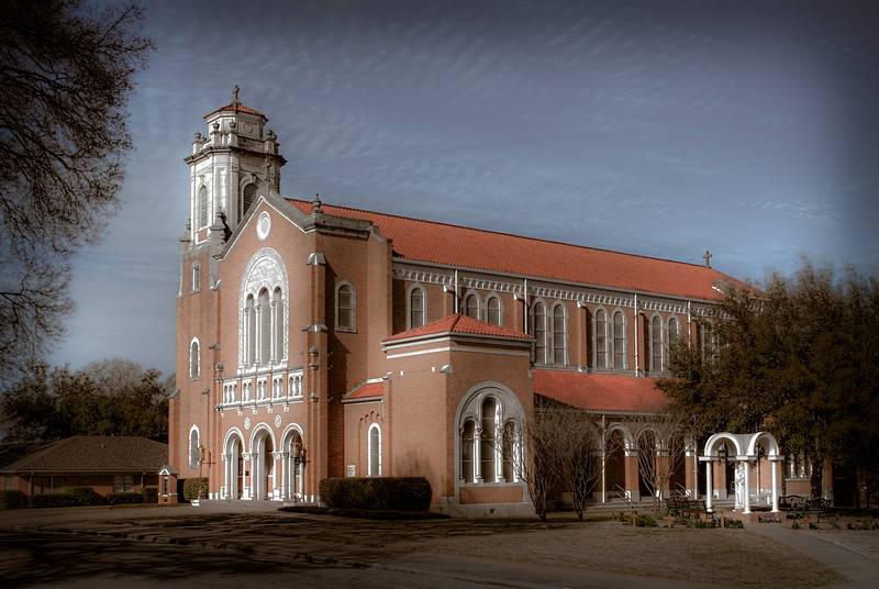 St. Mary, Immaculate Conception Catholic Church in Brenham, Texas.