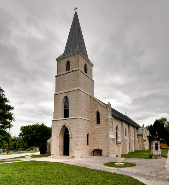 St. Stanislaus Catholic Church In Bandera Texas