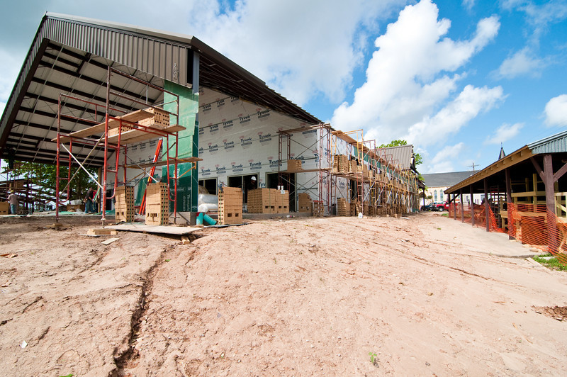 Construction Of New Parish Hall At St. Anderson Catholic Church In Anderson Texas