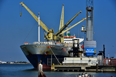 Galveston_Super-Moon_Port_Cranes-Ship_D75_1023