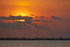 (6:57 AM)  Sunrise over Port Bolivar taken from the end of the Texas City Dike