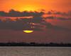 Sunrise over Port Bolivar taken from the end of the Texas City Dike.
