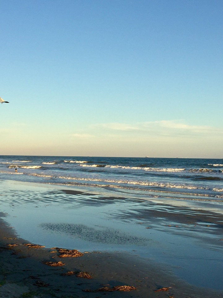 Beach at Galveston