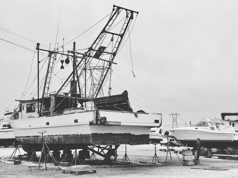 Boat Repair Yard