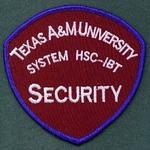 TEXAS A&M SECURITY (Institute of Biosciences and Technology at Houston)