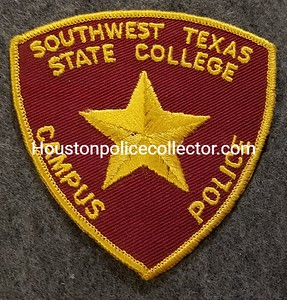 ONLY IN USE 9-1-1959 TO 1969, BEFORE NAME WAS CHANGED TO SOUTHWEST TEXAS STATE UNIVERSITY