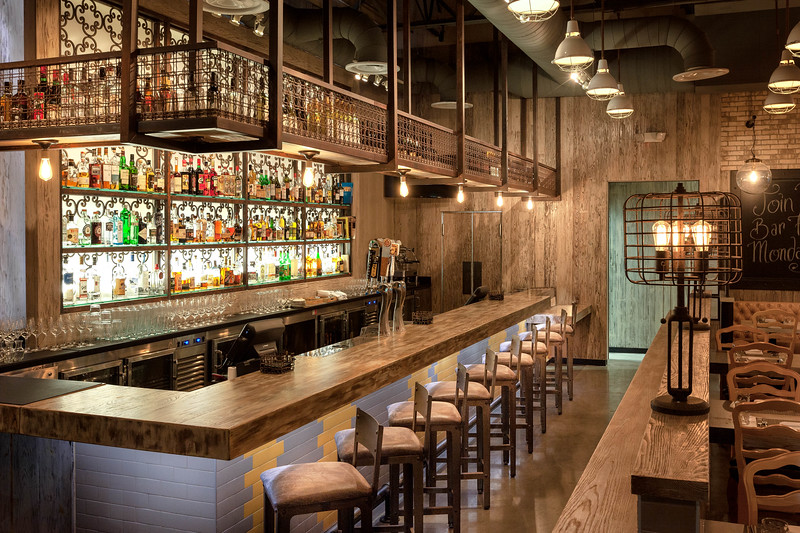 Rustic Bar Interior Design