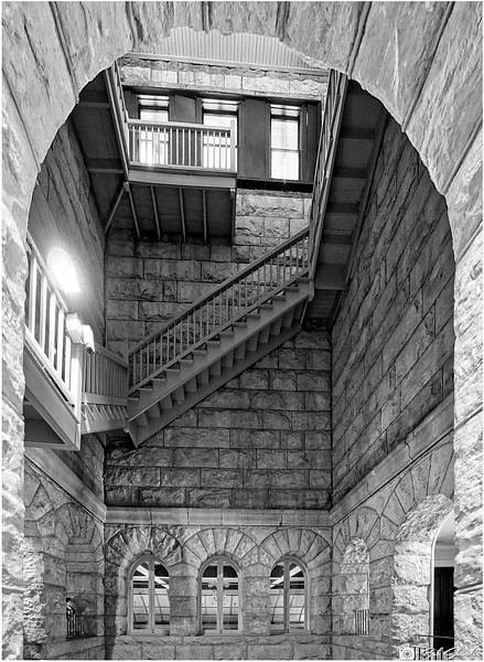 Three Floors Inside the Courthouse