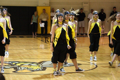 Jacket Dancers Sept 3, 2008 Pep Ralley (2)