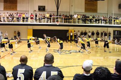Jacket Dancers Sept 3, 2008 Pep Ralley