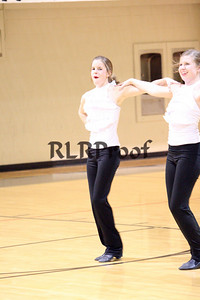 Jacket Dancers Halftime February 1, 2008 (20)
