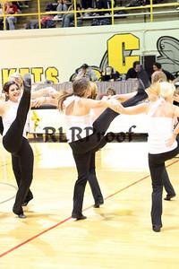 Jacket Dancers Halftime February 1, 2008 (24)