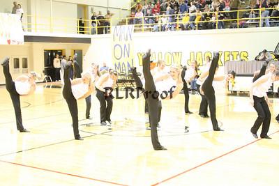 Jacket Dancers Halftime February 1, 2008 (14)