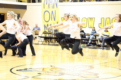 Jacket Dancers Halftime February 1, 2008 (36)