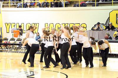 Jacket Dancers Halftime February 1, 2008 (3)