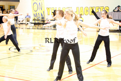 Jacket Dancers Halftime February 1, 2008 (30)