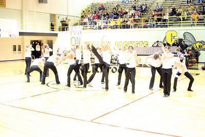 Jacket Dancers Halftime February 1, 2008 (29)