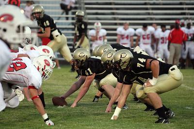 Cleburne Varsity Football Sept 14, 2008