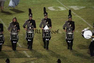 CHS Jacket Band Halftime October 17, 2008 (8)