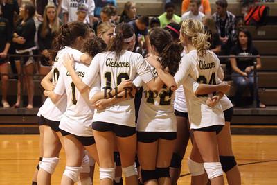 CHS Varsity Volleyball vs Granbury Sept 23, 2011 (13)