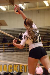 CHS Varsity Volleyball vs Everman Sept 9, 2011 (28)