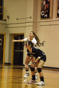 CHS Varsity Volleyball vs Everman Sept 9, 2011 (8)