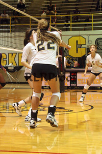 CHS Varsity Volleyball vs Everman Sept 9, 2011 (42)