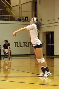 CHS Varsity Volleyball vs Everman Sept 9, 2011 (23)