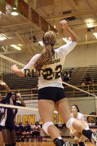 CHS Varsity Volleyball vs Everman Sept 9, 2011 (17)