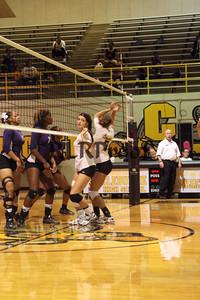 CHS Varsity Volleyball vs Everman Sept 9, 2011 (12)