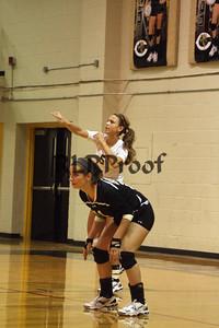 CHS Varsity Volleyball vs Everman Sept 9, 2011 (7)