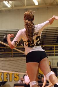 CHS Varsity Volleyball vs Everman Sept 9, 2011 (27)