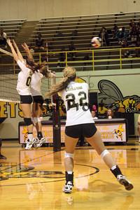 CHS Varsity Volleyball vs Everman Sept 9, 2011 (11)