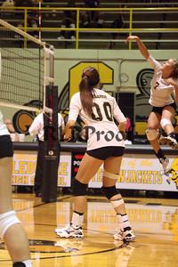 CHS Varsity Volleyball vs Everman Sept 9, 2011 (47)