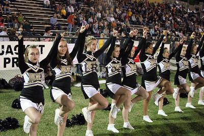 CHS Varsity Cheer October 17, 2008
