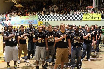 CHS Varsity Cheer Sept 3, 2008 Pep Rally (37)