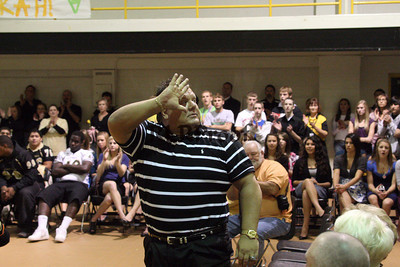 Cleburne High Home Coming Pep Rally Oct 30, 2009 (19)