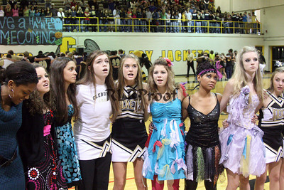Cleburne High Home Coming Pep Rally Oct 30, 2009 (100)