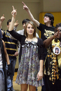 Cleburne High Home Coming Pep Rally Oct 30, 2009 (111)